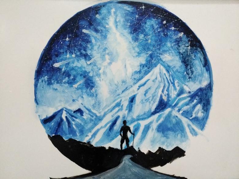 《雪山》马凯文